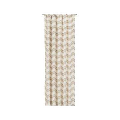 "Mavis 50""x84"" Curtain Panel - Crate and Barrel"