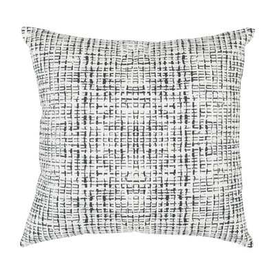 "Abstract Grid Large Pillow - 20"" H x 20"" W - Down/Feather Fill - Wayfair"