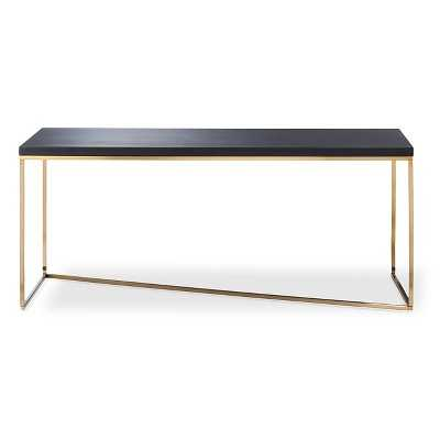 Stepney Coffee Table Brass and Black - Target