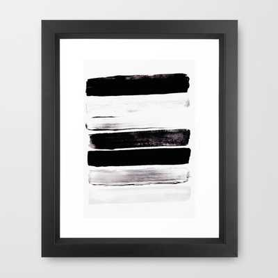 "Stack V - 10"" X 12"" - Framed - Society6"