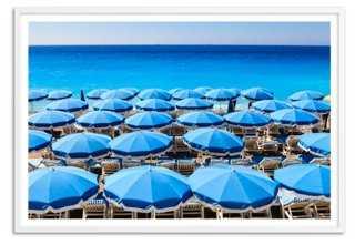 "Côte d'Azur, Oversize- 50"" x 34""- Framed - One Kings Lane"