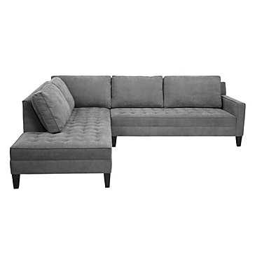 Vapor Sectional - 2 Piece (Left-Arm Daybed) - Z Gallerie
