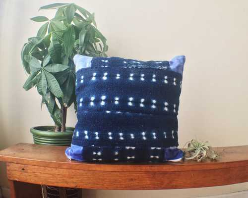 Positive Figure Dyed Pillow - no insert - Etsy