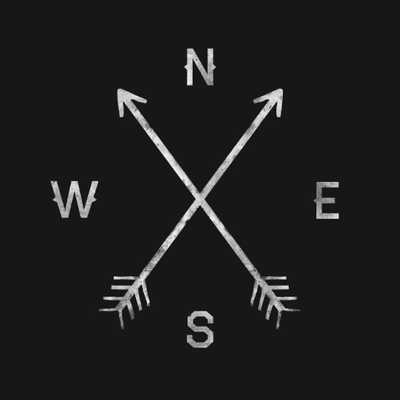 "Compass - ART PRINT/MEDIUM (17"" X 17"") - Society6"