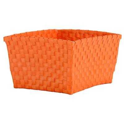 Strapping Shelf Basket (Orange) - Land of Nod