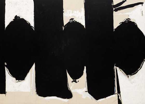 """ELEGY TO THE SPANISH REPUBLIC, NO. 110 - 23.00"""" x 18.38""""- Framed - 1000museums.com"""