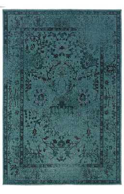 Oriental Weavers Sphinx Revival 550 Blue Rug - Rugs USA