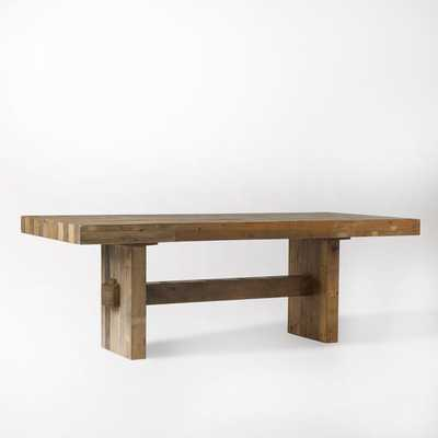 """Emmerson Reclaimed Wood Dining Table - 62"""" - West Elm"""