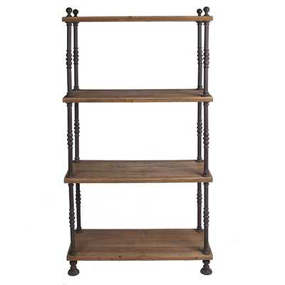 French Shoekeeper's Shelves - Wisteria