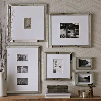 Mirror Gallery Frames-Set of 4 -Assorted sizes - West Elm