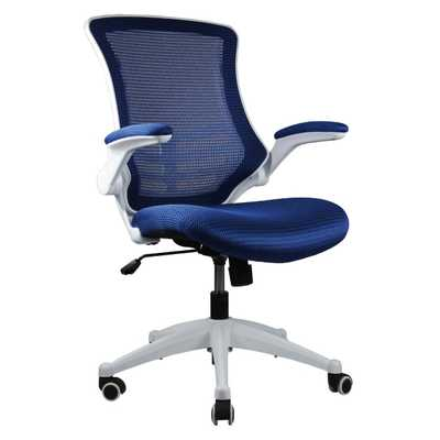 High-Back Mesh Conference Chair with Wheels - Wayfair