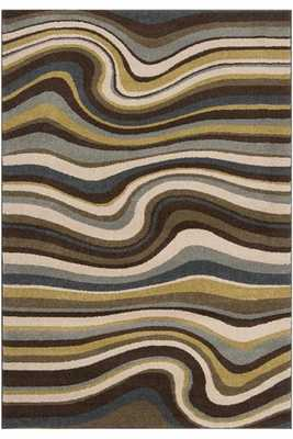 "HILLSIDE AREA RUG - Khaki - 6'7"" x 9'6"" - Home Decorators"