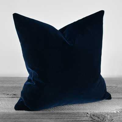 Pillow Cover -Midnight Navy-12 x 16-no insert - Etsy