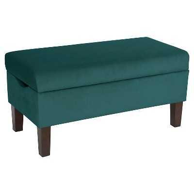 Bedroom Velvet Storage Bench - Target