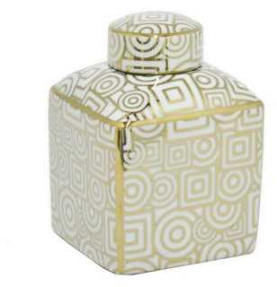 Lilou Covered Jar - One Kings Lane