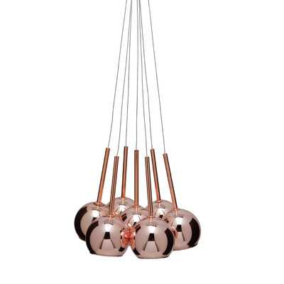 Sadie 7 Light Globe Pendant - Wayfair