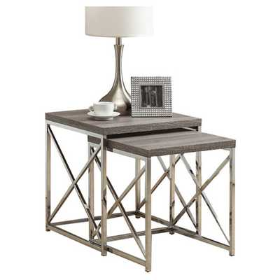 2 Piece Nesting Table Set - AllModern