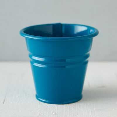 Mini Bucket Pot - Blue - shopterrain.com
