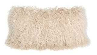 Tibetan Lamb Pillow - One Kings Lane
