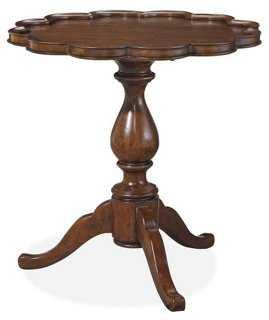 Piecrust Table, Rustic Java - One Kings Lane