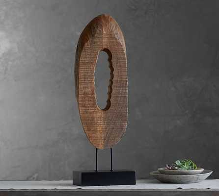 Wood Slice on Stand - Pottery Barn