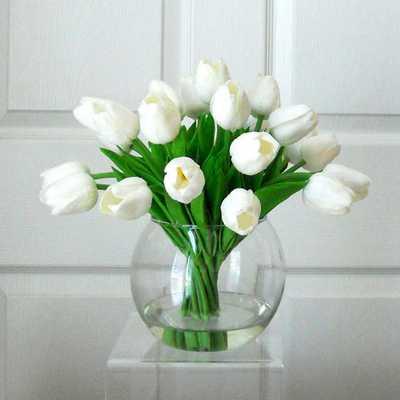 Faux Floral Arrangement - Etsy
