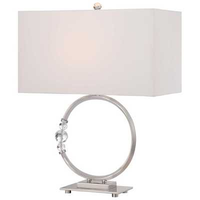 "22.5"" Table Lamp with Rectangular Shade - AllModern"