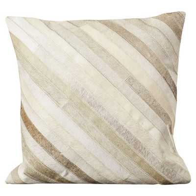 """Whitchurch Feather Throw Pillow - 22"""" Square - with insert - AllModern"""