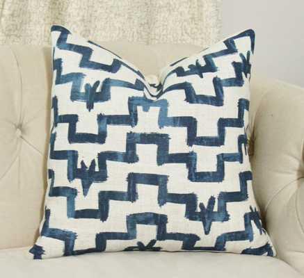"Zak and Fox Designer Pillow 18"" x 18"" insert sold separately - Etsy"