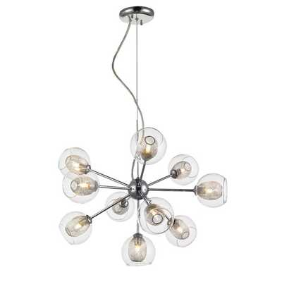 Auge 10 Light Chandelier - AllModern
