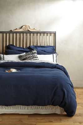 Soft-Washed Linen Duvet-King - Anthropologie