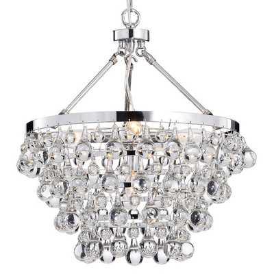 Indoor 5-light Luxury Crystal Chandelier - Overstock
