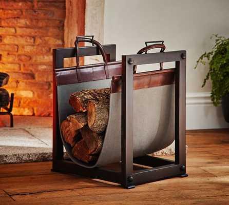 Industrial Log Carrier/ Holder - Pottery Barn
