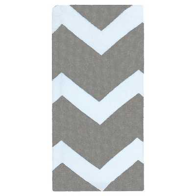RE Kitchen Towel Terry Chevron Gray - Target