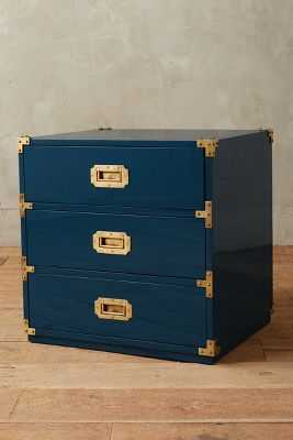 Lacquered Wellington Three Drawer Dresser - Anthropologie