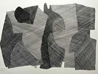 Abstract Drawing by Roger Stokes - One Kings Lane