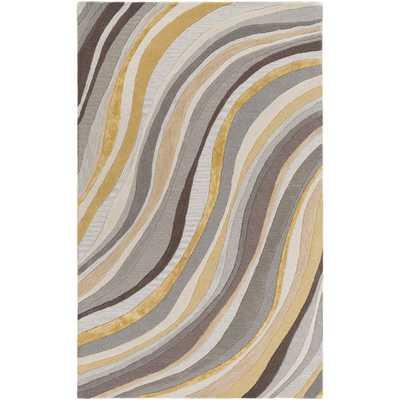 Artistic Weavers Hand-Tufted Kaci Wool / Viscose Rug (9' x 13') - Overstock