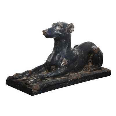 Relaxed Dog Statue - High Fashion Home