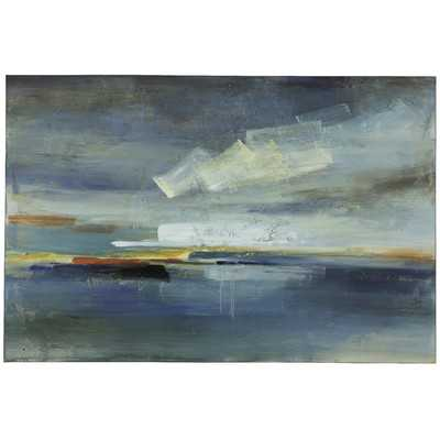 Sky Painting on Wrapped Canvasby Cooper Classics - Wayfair