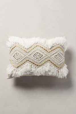 Moroccan Wedding Pillow - 14x20, With insert - Anthropologie