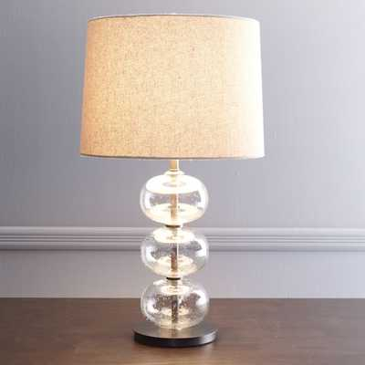 Abacus Table Lamp - Clear - West Elm