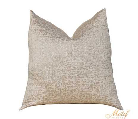 Gold - Metallic Pillow Cover - 18''x18'' - Insert sold separately - Etsy