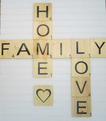 Large Scrabble Tiles for Words - FUN - Etsy