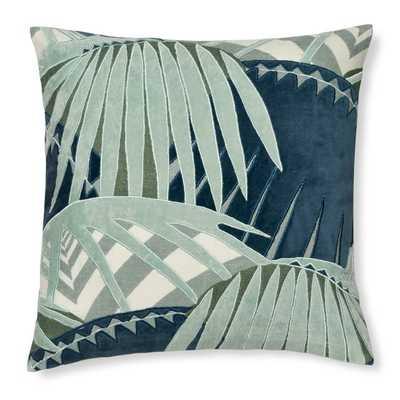 Rousseau Velvet Applique Pillow Cover - insert not included - Williams Sonoma Home