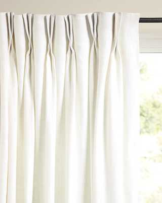Palmer Linen Window Panel - Serena and Lily