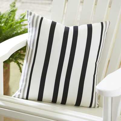 Jenna Striped Outdoor Pillow - Wayfair