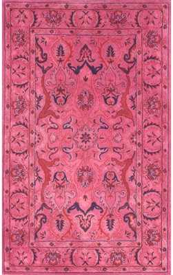 "Overdye RE31 Rug - Pink - 8' 6"" x 11' 6"" - Rugs USA"