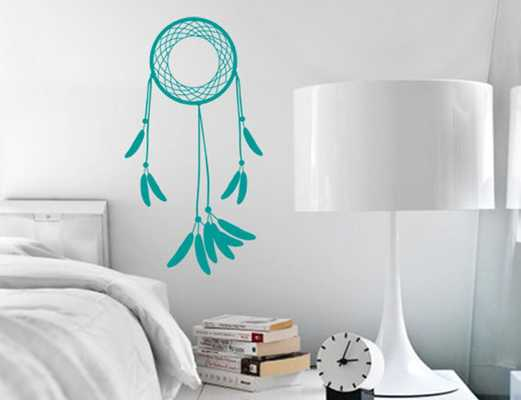 Dream Catcher Wall Decal - Etsy