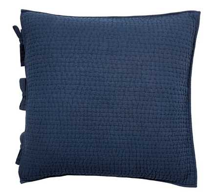 PICK-STITCH EURO SHAM - Pottery Barn