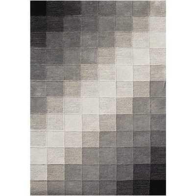 Alliyah Hand Made Black New Zealand Blend Wool Rug - Overstock